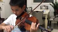 王梓州小提琴音阶2