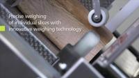 碧彩A550Fully-automatic slicer 工业切片机,创新称重技术