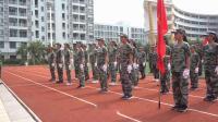 广州市恒润实验学校19年新生军训科目汇报表演