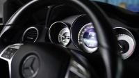 奔驰C200 W204 改装RES智能电子可变阀门排气 原地开关阀门