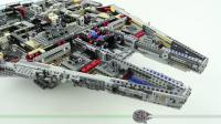 乐高75192星球大战LEGO Millennium Falcon SHORT BUILD Star Wars - 4 Minutes Fast Build