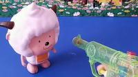 宝宝喜欢玩具:乔治抢别人的东西