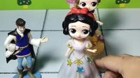 育儿益智动画玩具:你们觉得哪位公主唱的好听呢,投出你的