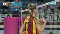 贝西克塔斯 vs 加拉塔萨雷 - 2019/2020土耳其女排联赛第3轮
