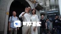 林志玲结束婚礼彩排满脸幸福 携丈夫向媒体致谢1