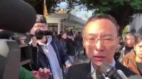 高以翔追悼会:浙江卫视节目组代表到场致意,被记者围堵