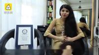 【转发这个发量锦鲤!,一周洗一次,妈妈帮忙梳头】吉尼斯纪录1月10日公布,来自印度的少女妮兰西·帕特尔在16岁时,创造了青少年头发最长的新纪...