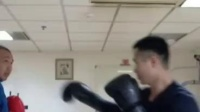 拳击切磋— 贺人杰vs刘伟