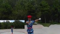沈北新区喜洋洋广场舞《我是一个兵》表演:喜洋洋 画中画1080p