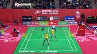 2020.02.23 决赛 波莉/拉哈尤 vs 斯托伊娃姐妹 - 2020西班牙羽毛球大师赛