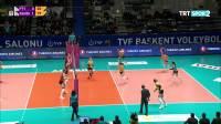 PTT vs 加拉塔萨雷 贝利恩 - 2019/2020土耳其女排联赛第18轮