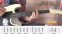 【练习3】重金属节奏吉他第二册示范演奏