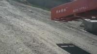 火车箱棚车装卸机 多功能转弯伸缩输送机 火车站台专用皮带输送机