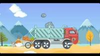 挖土机又要开始工作啦!你还认识那种工程车?宝宝巴士游戏