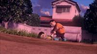 哆啦A梦:胖虎要打大雄,大雄勇敢的还手,第一次把胖虎...