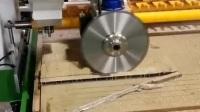 豪迪自动化全铝家具铝合金家具柜体加工数控开料机锯片切割机