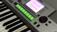 雅马哈PSR-S550电子琴 preset demo