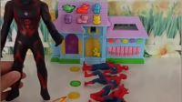 蜘蛛侠的孩子不见了,原来是贝利亚大人干的,蜘蛛侠叫来了他的兄弟!