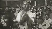 1927年的上海街头武术、杂技表演