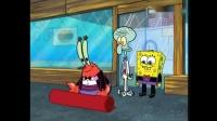 《海绵宝宝》国王要来蟹堡王,蟹老板弄了个观众席趁机挣钱