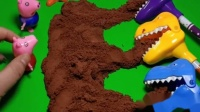 大头儿子的太空沙被恐龙给偷吃了,小恐龙真是个小吃货,味道怎么样
