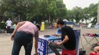 户外贴膜 地摊创业 200709实战跟踪视频 湖北王兄拍