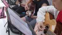 阜宁五音阁吉他教学(当你老了)