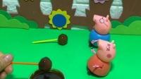 少儿益智玩具:给猪爸爸做一个巧克力棒棒糖