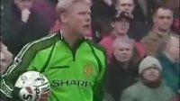 98-99足总杯曼联VS利物浦上半场