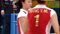 2008 北京奥运女排三四名决赛 中国vs古巴 第二局