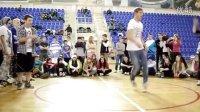 俄罗斯 2011 年底 鬼步舞 比赛 视频 衬衣 vs T恤 曳步舞