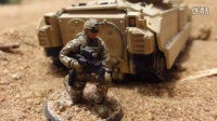 Modern Plastic Army Men - US Marines Stop Motion 现代玩具兵