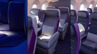 787梦想飞机内饰一览