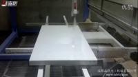 【成都森联】密度板家具白亮光喷涂流水线