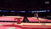 【2015世锦赛】女子体操 资格赛 跳马 Daria Spiridonova