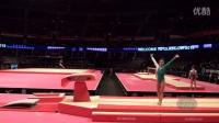 【2015世锦赛】女子体操 资格赛 跳马 Farah Boufadene