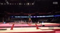 【2015世锦赛】女子体操 资格赛 平衡木 Farah Boufadene