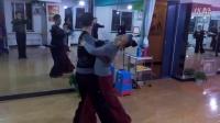 秀艺美舞蹈 探戈(2)锁步-拖步