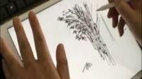 竹的画法示意-来拓手绘