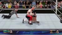 """【WWE 2K16】神秘人""""艾尔布雷泽""""VS""""兰迪奥顿"""""""