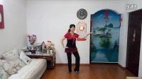 艾尼丽清姐妹广场舞原创《甘心情愿》编舞正面演示丽清