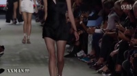Alexander Wang 2017春夏系列纽约时装周发布会-性感超模内衣诱惑T台走秀