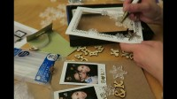 DAY 21 圣诞日记VLOGMAS 小开KELLY : 3D相框DIY
