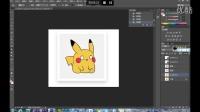 Photoshop第13集教程-PS绘画可爱的比卡丘