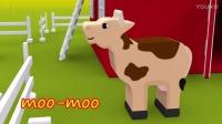 ❤会员专享❤ 原版经典 卡通宝宝学习农场动物及叫声