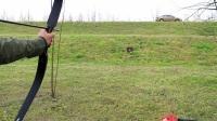 传统美洲猎弓实测,新手开启弓箭练习之路