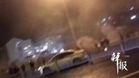 【拍客】苏州街头两拨人深夜持烟花对射打斗 警方回应已控制部分涉案人员