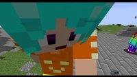 【小本和小萱】我的世界速建#21 一起钓鱼 minecraft服务器mc搞笑游戏