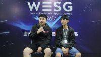 WESG2017浙江站DOTA2冠军 EHOME.K采访视频