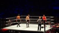 (全国最清晰版本)WWE深圳巡演全美冠军四重威胁赛